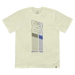 Camiseta DC Shoes Basic Elevator Star Snow White -... - DREAMSSKATESHOP