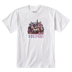 Camiseta DGK Ghetto Games White - 2495 - DREAMSSKATESHOP