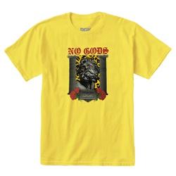 Camiseta DGK No Gods Yellow - 2496 - DREAMSSKATESHOP