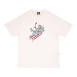 Camiseta High Tee Robot White - 3200 - DREAMSSKATESHOP