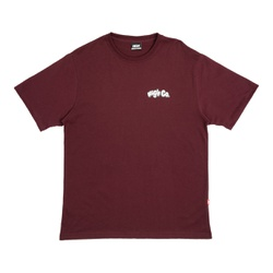 Camiseta High Tee Beach Rat Burgundy - 3183 - DREAMSSKATESHOP
