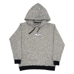 Fleece Hoodie High Heater Black - 3346 - DREAMSSKATESHOP