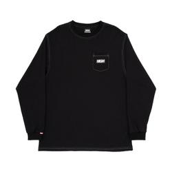 Longsleeve High Colored Black - 3344 - DREAMSSKATESHOP
