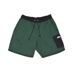 Cargo Shorts High Green Black - 3395 - DREAMSSKATESHOP