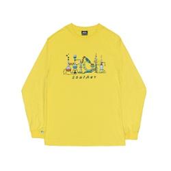 Longsleeve High Lab Soft Yellow - 3417 - DREAMSSKATESHOP