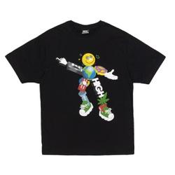 Camiseta High Tee Zord Black - 3398 - DREAMSSKATESHOP