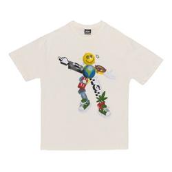 Camiseta High Tee Zord White - 3398 - DREAMSSKATESHOP