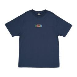 Camiseta High Tee Logo Dots Navy - 3338 - DREAMSSKATESHOP