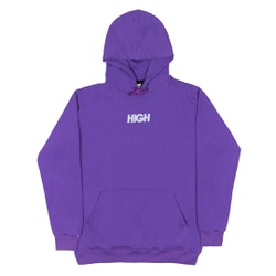 Reflective Hoodie High Logo Purple - 3475 - DREAMSSKATESHOP
