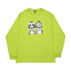 Longsleeve High Monkeys Green - 2973 - DREAMSSKATESHOP