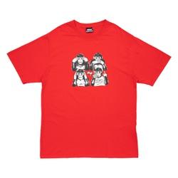 Camiseta High Tee Monkeys Red - 2967 - DREAMSSKATESHOP
