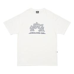 Camiseta High Tee Star White - 2965 - DREAMSSKATESHOP