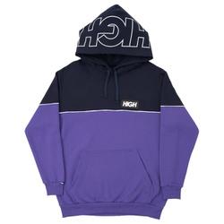 Block Hoodie High Navy/Purple - 3112 - DREAMSSKATESHOP