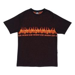 Camiseta High Jacquard Tee Dices Black - 3117 - DREAMSSKATESHOP