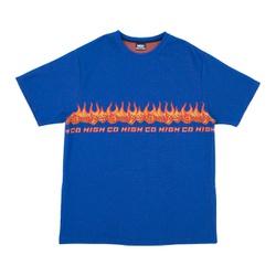 Camiseta High Jacquard Tee Dices Blue - 3117 - DREAMSSKATESHOP