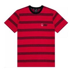 Camiseta HUF x Spitfire Striped Knit Red - 3051 - DREAMSSKATESHOP