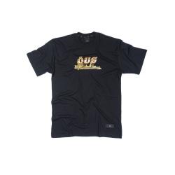 Camiseta ÖUS Fuga Preto - 3451 - DREAMSSKATESHOP