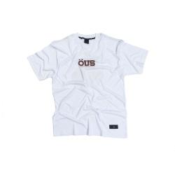 Camiseta ÖUS Indio Hi tech Branco - 3454 - DREAMSSKATESHOP
