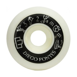 Moska Wheels Diego Fonts 52mm - 2940 - DREAMSSKATESHOP