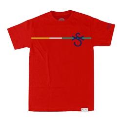 Camiseta Sigilo Colors Equality Vermelha - 3421 - DREAMSSKATESHOP