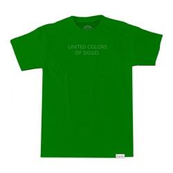 Camiseta Sigilo Colors Icon Verde - 3420 - DREAMSSKATESHOP
