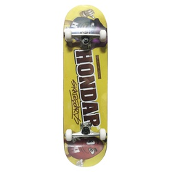 Skate Montado Hondar Chocolate - 3080 - DREAMSSKATESHOP