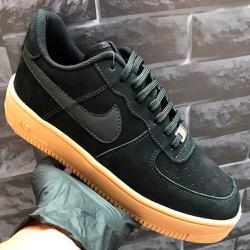 Nike Air Force 1 Preto e Caramelo - Air Force 1 P... - DROPSHOPONLINE