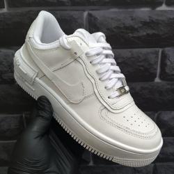 Nike Air Force Shadow Feminino todo branco - Air F... - DROPSHOPONLINE