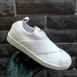Adidas Superstar Slip On Branco - Superstar Slip O... - DROPSHOPONLINE