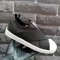 Adidas Superstar Slip On Preto e branco - Supersta... - DROPSHOPONLINE