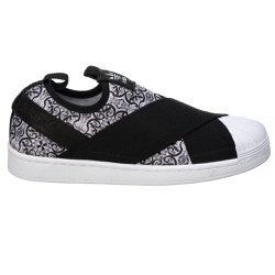 Adidas Superstar Slip On Cinza estampado - Superst... - DROPSHOPONLINE