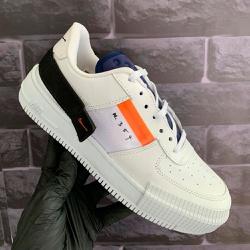 Nike Type Branco e Azul - Type Branco e Azul - DROPSHOPONLINE
