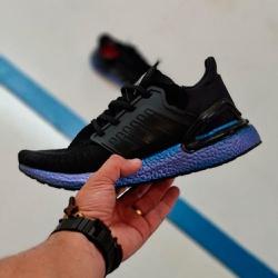 Adidas Ultraboost 20 Preto e azul - Ultraboost 20 ... - DROPSHOPONLINE