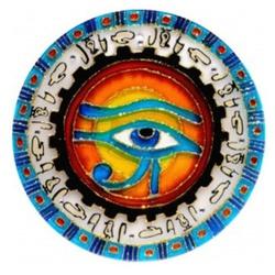 Mandala Olho de Horus - 2609 - ELLA ARTESANATOS