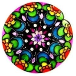 Mandala Lua - 4393 - ELLA ARTESANATOS