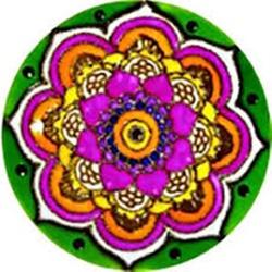 Mandala Petalas - 4385 - ELLA ARTESANATOS