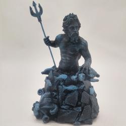 Netuno - Deus dos Mares - 3334 - ELLA ARTESANATOS