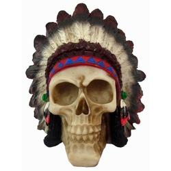 Crânio Índio Pq - 3303 - ELLA ARTESANATOS