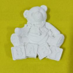 Aplique Urso Baby - 2301 - ELLA ARTESANATOS