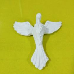 Aplique Espírito Santo Detalhado - 1694 - ELLA ARTESANATOS