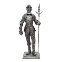 Guerreiro Medieval com Lança GG - 1369 - ELLA ARTESANATOS