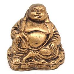 Buda Chinês Pequeno Dourado - 78 - ELLA ARTESANATOS