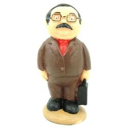 Miniatura do Sr. Barriga - 113 - ELLA ARTESANATOS
