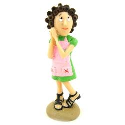 Miniatura da Dona Florinda - 107 - ELLA ARTESANATOS