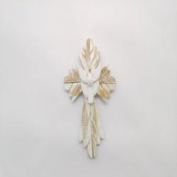 Espírito Santo Cruz Mini - 1508 - ELLA ARTESANATOS