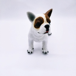 Cachorro Bulldog Francês Bidu - 3315 - ELLA ARTESANATOS
