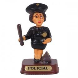 Policial Mulher - 711 - ELLA ARTESANATOS