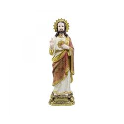 Sagrado Coração de Jesus Resina Importada 40 cm - ... - ELLA ARTESANATOS