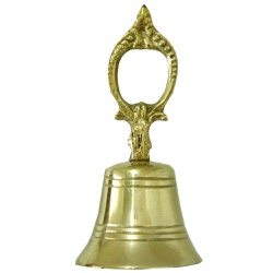 Sineta de Bronze - 72198 - ELLA ARTESANATOS