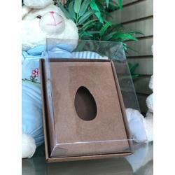 Embalagem para ovo de colher Kraft - 01238 - EMBALAGENS CRIATIVA